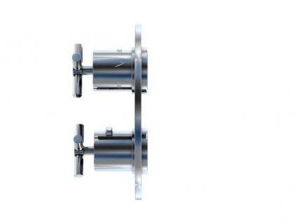 STEINBERG - Podomítková termostatická baterie /bez tělesa/, 3 výstupy, chrom (250 4123)