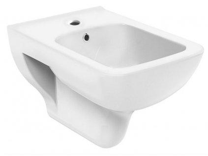 AQUALINE - BENE bidet závěsný, 35,5x50 cm, bílá (BN510)