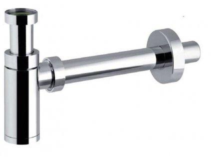 BONOMINI - KING umyvadlový sifon 1'1/4, odpad 32 mm, ABS chrom 0595PR25K7