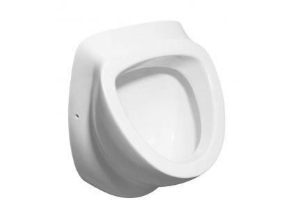 AQUALINE - DYNASTY urinál se zakrytým přívodem vody, 39x58 cm 10SZ92001-DS