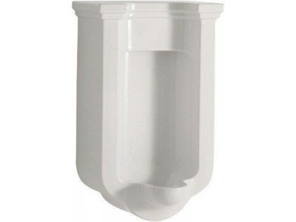 KERASAN - WALDORF urinál se zakrytým přívodem vody, 44x72x37 cm (413001)