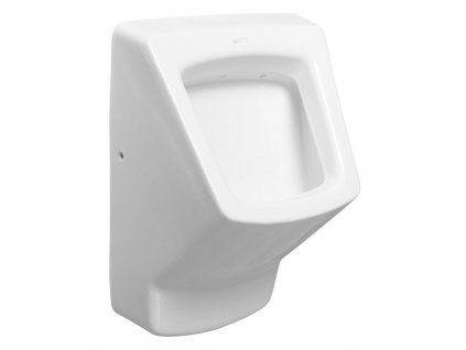 ISVEA - PURITY urinál se zakrytým přívodem vody, 38x53,5 cm 10PL92002