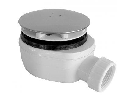 H K - Sifon sprchový 90 SNÍŽENÝ v.63mm nerez DN40, nízký EWNN940 (EWNN940) HLSV9040