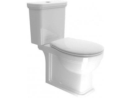 GSI - CLASSIC WC kombi, spodní/zadní odpad, bílá WCSET06-CLASSIC