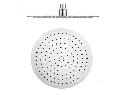 SAPHO - SLIM hlavová sprcha, kruh 300mm, leštěný nerez MS573