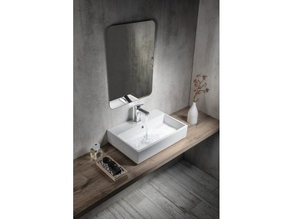 ISVEA - PURITY keramické umyvadlo 60x42cm (10PL50060)