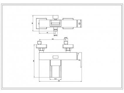 Eisl / Schuette - Vanová baterie WATERWAY NI023WCR-E (NI023WCR-E)