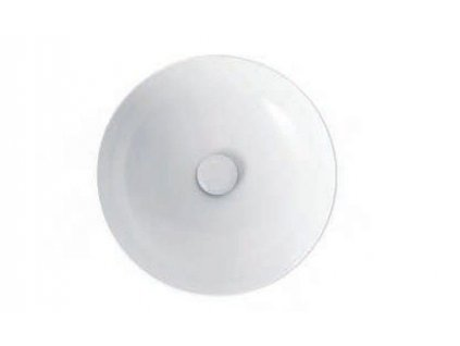 HOPA - Umyvadlo na desku CIRCLE 40/60/70/90 cm - Rozměr A - 40 cm, Rozměr B - 40 cm KEAZECI40
