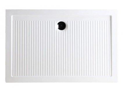 HOPA - Keramická obdélníková sprchová vanička FERDY II - 6,5 cm, Univerzální, 120 cm, 80 cm (VANKEFEII128)
