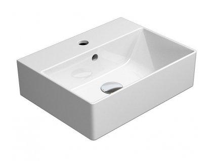 GSI - KUBE X umyvadlo 45x35 cm, bílá ExtraGlaze (9485111)