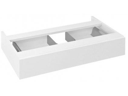 SAPHO - AVICE umyvadlová zásuvka 80x15x48cm, bílá (AV805)