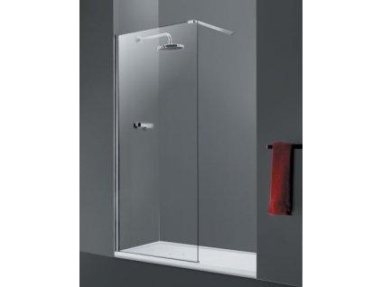 HOPA - Walk-in sprchový kout LAGOS - Hliník chrom, 110 cm (BCLAGO11CC)