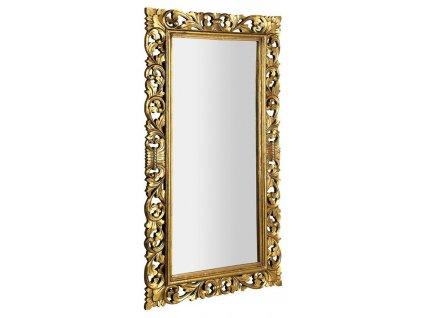 SAPHO - SCULE zrcadlo v rámu, 80x150cm, zlatá (IN338)