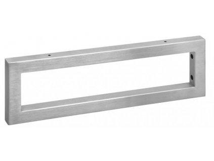SAPHO - Podpěrná konzole 490x150x30mm, broušená nerez, 1 ks (30384)