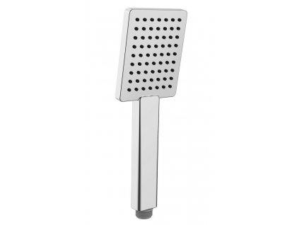 SAPHO - Ruční sprcha, 251mm, hranatá, ABS/chrom 1204-17