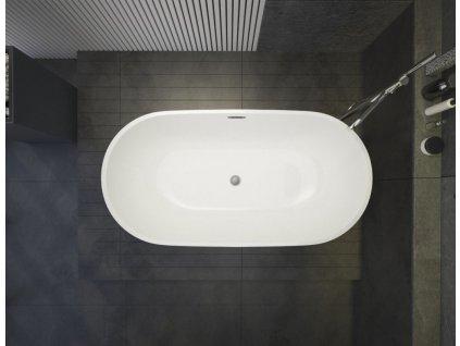 Aquatek - Volně stojící akrylátová vana DAYTONA 160x81 cm (DAYTONA)