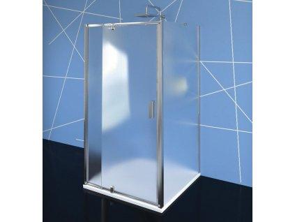POLYSAN - EASY LINE třístěnný sprchový kout 900-1000x900mm, pivot dveře, L/P varianta, Brick sklo EL1738EL3338EL3338