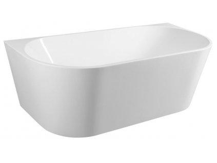 AQUALINE - TAJO volně stojící vana, 170x80 cm, bílá E1980
