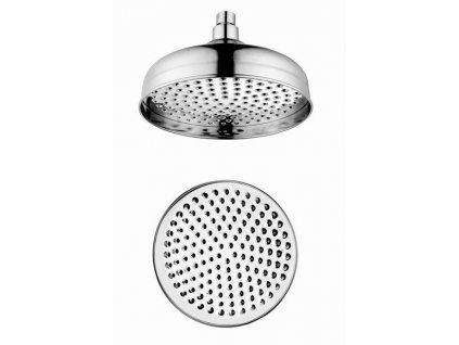 SAPHO - Hlavová sprcha retro, průměr 200mm, chrom (MH026)