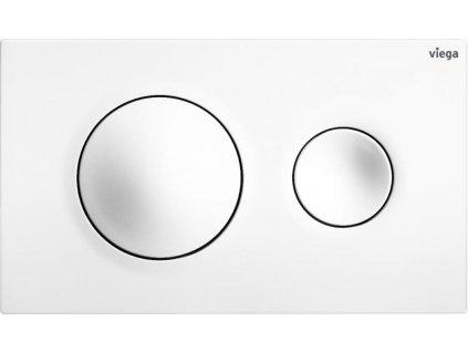 VIEGA Presvista modul PURE pro WC včetně tlačítka Style 20 bílé + WC CERSANIT CITY NEW CLEANON + WC SEDÁTKO SLIM (V771928 STYLE20BI CI2)