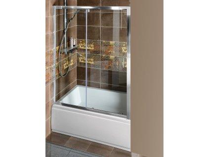 POLYSAN - DEEP sprchové dveře 1100x1650mm, čiré sklo (MD1116)