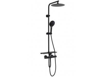 REA - Sprchový set Mike černá (REA-P0550)