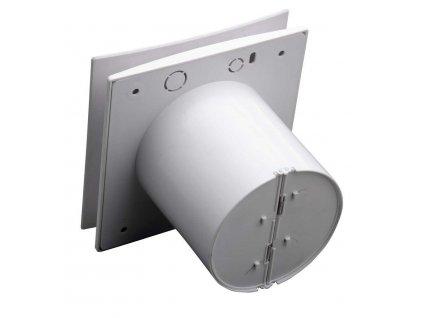 SAPHO - EIRA koupelnový ventilátor axiální s časovačem, 15 W, potrubí 100 mm, bílá (EI102)
