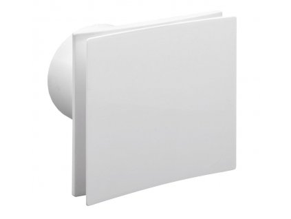 SAPHO - EIRA koupelnový ventilátor axiální, 15 W, potrubí 100 mm, bílá EI101
