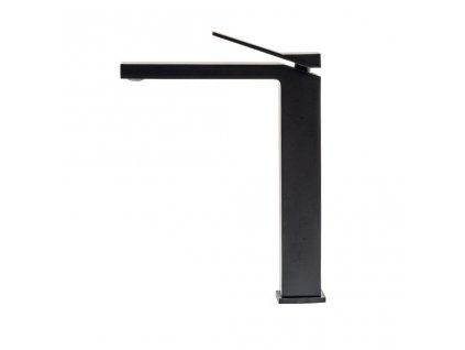REA - Vysoká umyvadlová baterie Duet černá REA-B4414
