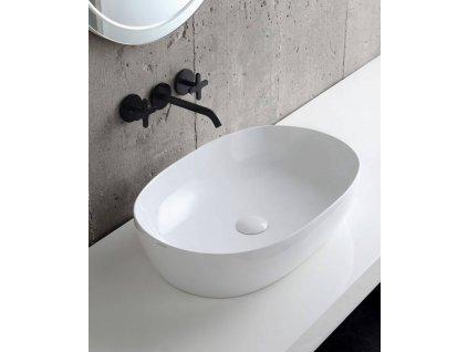 HOPA - Umyvadlo na desku CIRCLE 40/60/70/90 cm - Šíře - 60 cm, Hloubka - 40 cm (KEAZECI60)