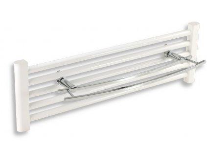 Novaservis - dvojitý držákna otopný žebřík 600 mm Metalia 2 chrom (6225/1,0)