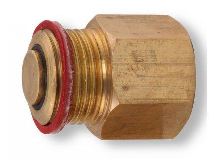 """Novaservis - zpětná klapka k odvzdušňovacímu ventilu 1/2"""" (RA603/15)"""