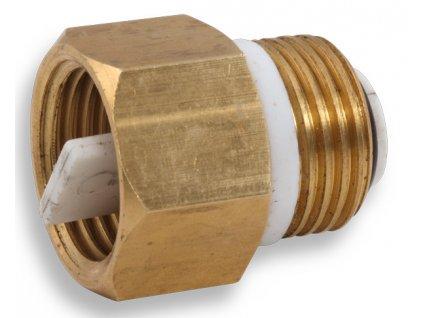 """Novaservis - zpětná klapka k odvzdušňovacímu ventilu 1/2"""" (RA604/15)"""