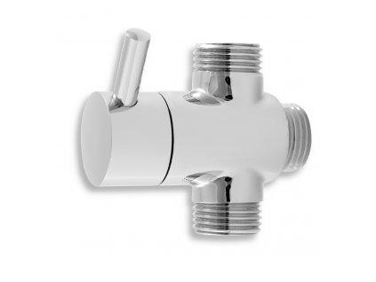 Novaservis - keramický přepínač sprchového setu 030 chrom (PR/SET030,0)