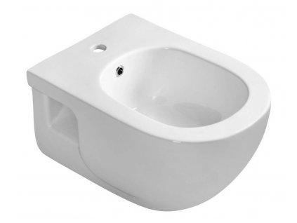 SAPHO - BRILLA bidet závěsný, 36,5x53 cm, bílá 100624