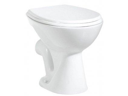 AQUALINE - WC mísa samostatně stojící 36x47cm, zadní odpad, bílá (TP330)