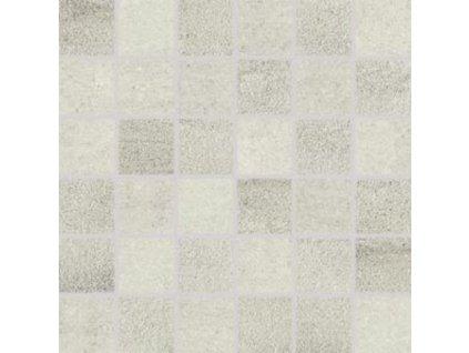 Rako Cemento mozaika set 30x30 cm šedo-béžová 5x5 (DDM06662)