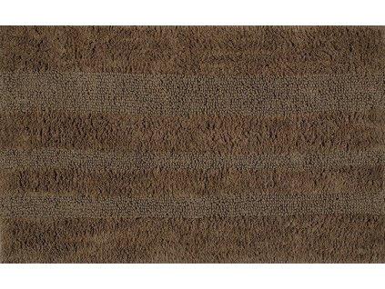 AQUALINE - DELHI koupelnová předložka, 50x80 cm, 100% bavlna, oboustranná, hnědá (DE508036)