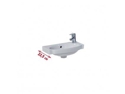 JIKA Tigo - umývátko 45 cm (H815212)