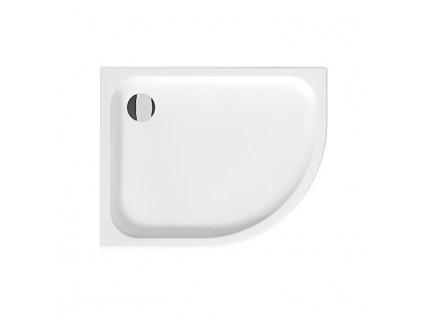 JIKA Tigo - sprchová vanička, keramická, asymetrická, levá (H852210)
