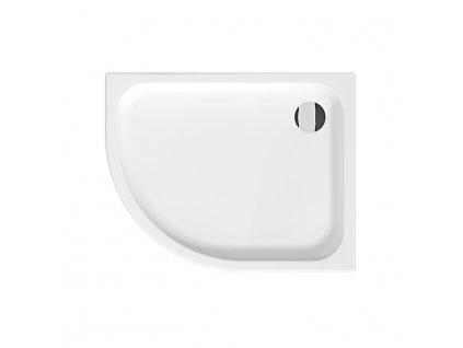 JIKA Tigo - sprchová vanička, keramická, asymetrická, pravá (H852211)