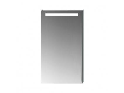 JIKA Clear - zrcadlo s LED osvětlením, bez vypínače, IP44, pro připojení do sítě 230 V, fazeta 5 mm, s možností vyhřívací fólie do rozměru 274 x 274 mm (H455705), mirror (H4557051731441)