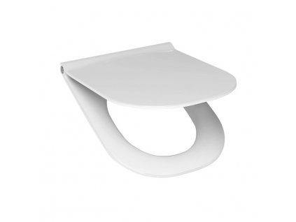 JIKA Mio - duroplastové sedátko s poklopem, nerez úchyty, odnímatelné (H891710), bílé (H8917100000631)