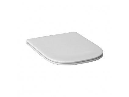 JIKA duroplastové sedátko s poklopem Deep by Jika, odnímatelné, kovové úchyty (H893610), bílé (H8936103000631)