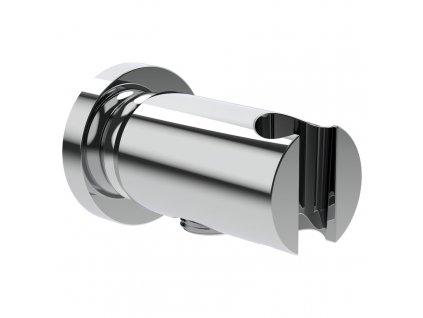 """LAUFEN the New Classic připojení sprchové hadice 1/2"""", s nástěnným držákem ruční sprchy, se zpětným ventilem, celokovový, chrom (3638500041521)"""