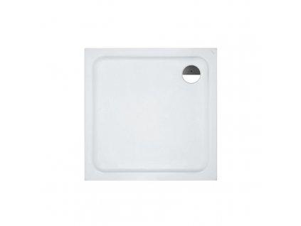 LAUFEN SOLUTIONS - sprchová vanička, sanitární akrylát, bílá, standardní provedení (H2115010000001)