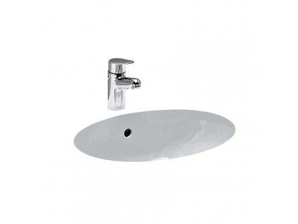 LAUFEN BIROVA - vestavné umyvadlo, bílé (811191)