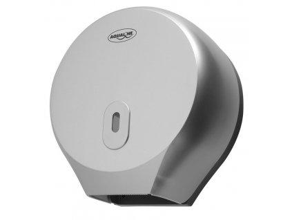 AQUALINE - Zásobník na toaletní papír do průměru 26cm, ABS šedá 1319-91