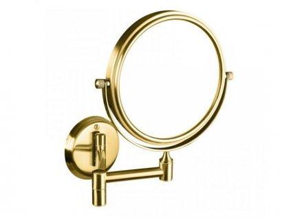 Bemeta Retro kosmetické zrcátko bez osvětlení, zlato/chrom (106101698)