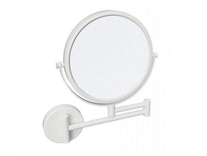 Bemeta White kosmetické zrcátko průměr 190 mm oboustranné, bílá (112201514)